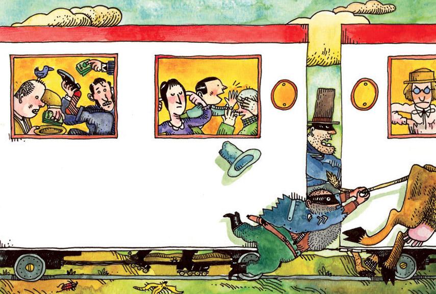 La grande rapina al treno
