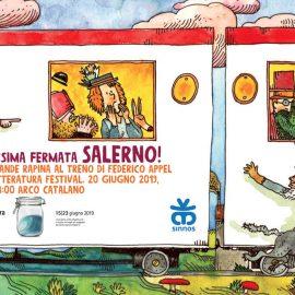 Banditi all'assalto al Salerno Letteratura Festival 2019!